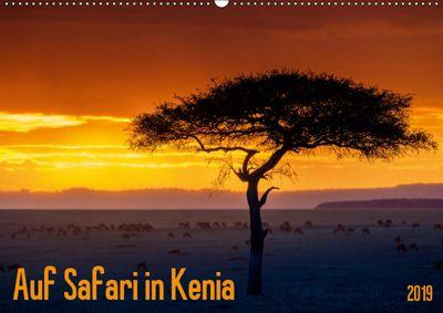Auf Safari in Kenia 2019 (Wandkalender 2019 DIN A2 quer), Gerd-Uwe Neukamp