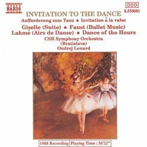 Aufforderung Zum Tanz*Naxos, O. Lenard, Tschecho-Slowak.Rso