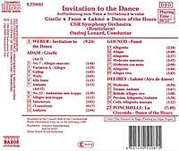 Aufforderung Zum Tanz*Naxos - Produktdetailbild 1