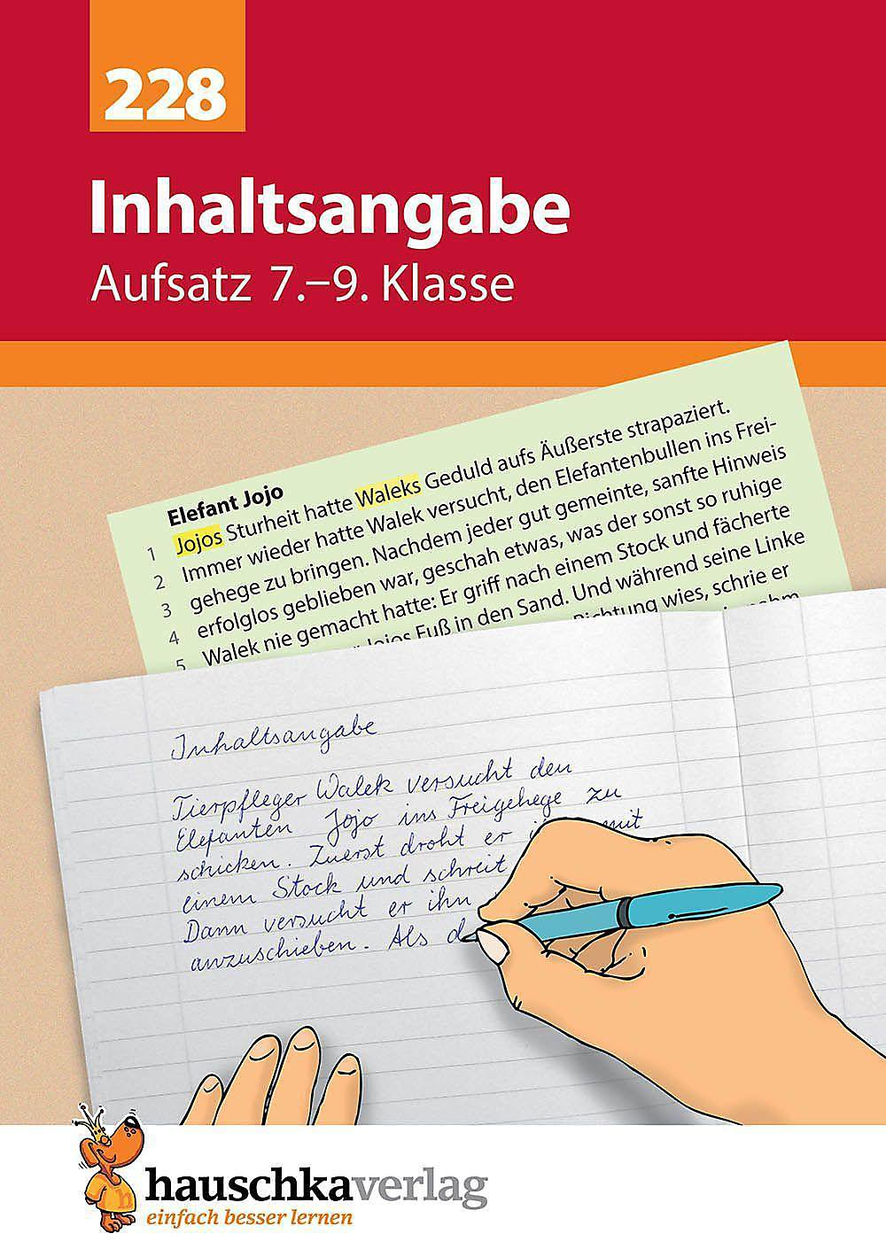 Aufsatz Inhaltsangabe Buch Bei Weltbildde Online Bestellen