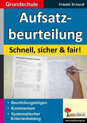 Aufsatzbeurteilung in der Grundschule, Friedel Schardt