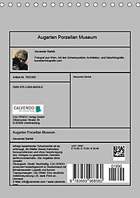 Augarten Porzellan Museum (Tischkalender 2019 DIN A5 hoch) - Produktdetailbild 13