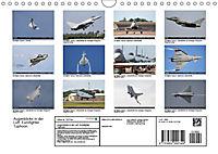 Augenblicke in der Luft: Eurofighter Typhoon (Wandkalender 2019 DIN A4 quer) - Produktdetailbild 13