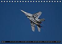 Augenblicke in der Luft: MiG-29 Fulcrum (Tischkalender 2019 DIN A5 quer) - Produktdetailbild 7