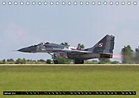 Augenblicke in der Luft: MiG-29 Fulcrum (Tischkalender 2019 DIN A5 quer) - Produktdetailbild 1