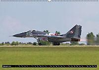 Augenblicke in der Luft: MiG-29 Fulcrum (Wandkalender 2019 DIN A2 quer) - Produktdetailbild 1