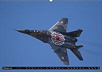 Augenblicke in der Luft: MiG-29 Fulcrum (Wandkalender 2019 DIN A2 quer) - Produktdetailbild 2