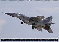 Augenblicke in der Luft: MiG-29 Fulcrum (Wandkalender 2019 DIN A2 quer) - Produktdetailbild 4