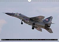 Augenblicke in der Luft: MiG-29 Fulcrum (Wandkalender 2019 DIN A4 quer) - Produktdetailbild 4