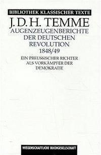 Augenzeugenberichte der deutschen Revolution 1848/49, Jodocus D. H. Temme