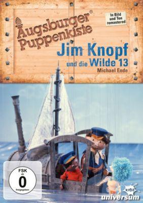 Augsburger Puppenkiste: Jim Knopf und die Wilde 13, Michael Ende, Max Kruse