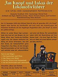 Augsburger Puppenkiste - Jim Knopf und Lukas der Lokomotivführer - Produktdetailbild 1
