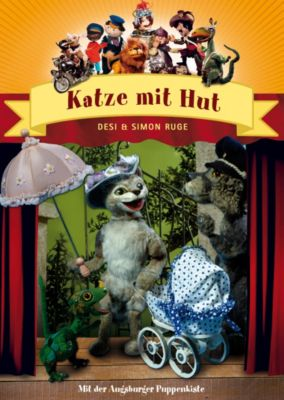 Augsburger Puppenkiste - Katze mit Hut, Simon Ruge, Desi Ruge