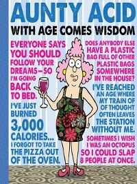 Aunty Acid with Age Comes Wisdom, Ged Backland