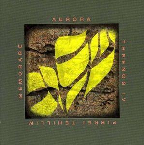 Aurora/Thenos Iv/Pirkei.../Memorare, Diverse Interpreten