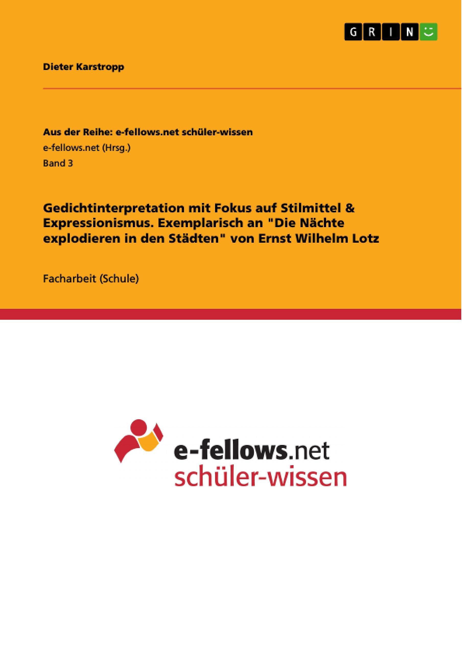 Aus Der Reihe E Fellows Net Schuler Wissen Band 3