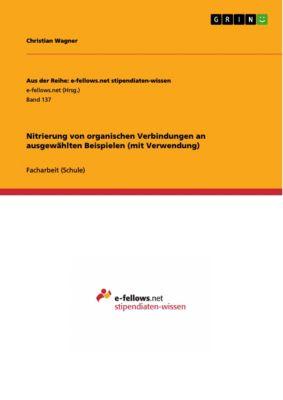Aus der Reihe: e-fellows.net stipendiaten-wissen: Nitrierung von organischen Verbindungen an ausgewählten Beispielen (mit Verwendung), Christian Wagner