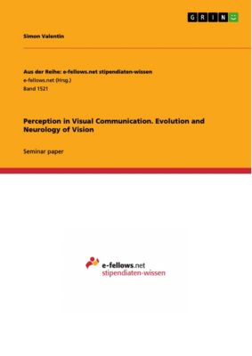 Aus der Reihe: e-fellows.net stipendiaten-wissen: Perception in Visual Communication. Evolution and Neurology of Vision, Simon Valentin