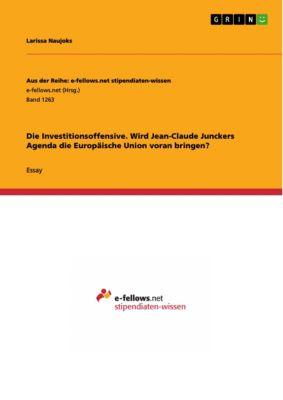 Aus der Reihe: e-fellows.net stipendiaten-wissen: Die Investitionsoffensive. Wird Jean-Claude Junckers Agenda die Europäische Union voran bringen?, Larissa Naujoks