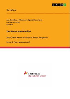 Aus der Reihe: e-fellows.net stipendiaten-wissen: The Hema-Lendu Conflict, Tim Pfefferle