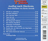 Ausflug Nach Oberkrain-Neue Melodien Von Slavko Av - Produktdetailbild 1