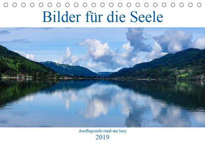 Ausflugsziele rund um Isny (Tischkalender 2019 DIN A5 quer), Michael Tschierschky