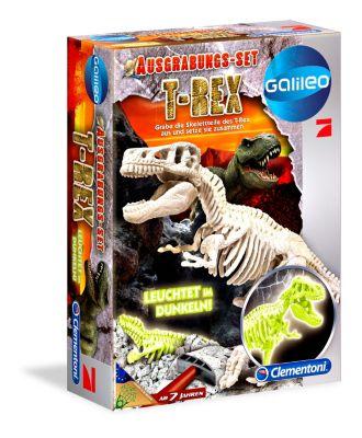 Ausgrabungs-Set - T-Rex fluoreszierend (Experimentierkasten)