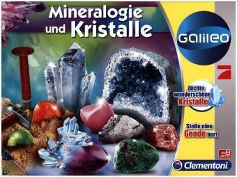 Ausgrabungsset Mineralogie und Kristalle (Experimentierkasten)