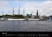 Auslaufparade des Hamburger Hafengeburtstages (Wandkalender 2019 DIN A2 quer) - Produktdetailbild 6
