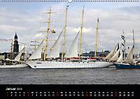Auslaufparade des Hamburger Hafengeburtstages (Wandkalender 2019 DIN A2 quer) - Produktdetailbild 1