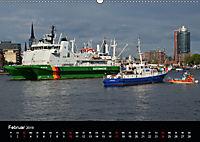 Auslaufparade des Hamburger Hafengeburtstages (Wandkalender 2019 DIN A2 quer) - Produktdetailbild 2