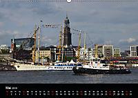 Auslaufparade des Hamburger Hafengeburtstages (Wandkalender 2019 DIN A2 quer) - Produktdetailbild 5