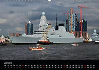Auslaufparade des Hamburger Hafengeburtstages (Wandkalender 2019 DIN A2 quer) - Produktdetailbild 7
