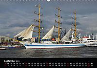 Auslaufparade des Hamburger Hafengeburtstages (Wandkalender 2019 DIN A2 quer) - Produktdetailbild 9