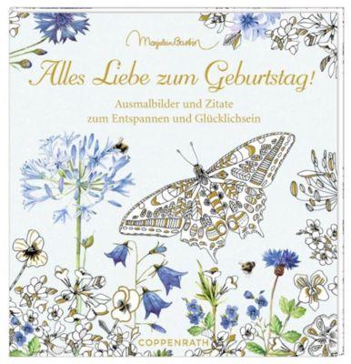 Ausmalbuch - Alles Liebe zum Geburtstag!