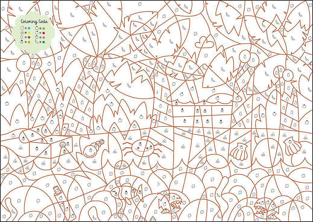 Ausmalen Entdecken Malen Nach Zahlen Buchstaben Und