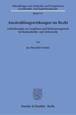 Ausstrahlungswirkungen im Recht., Jan-Benedikt Fischer
