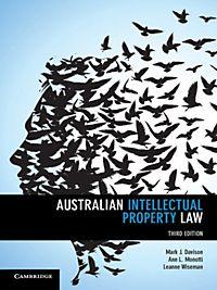 Australian Intellectual Property Law Pdf Cambridge