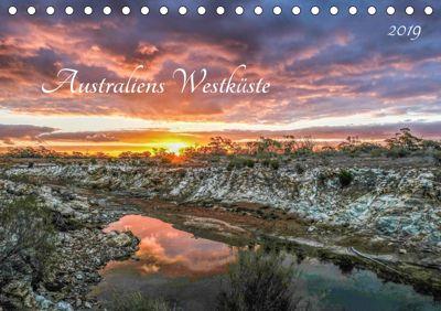 Australiens Westküste (Tischkalender 2019 DIN A5 quer), Christina Fink