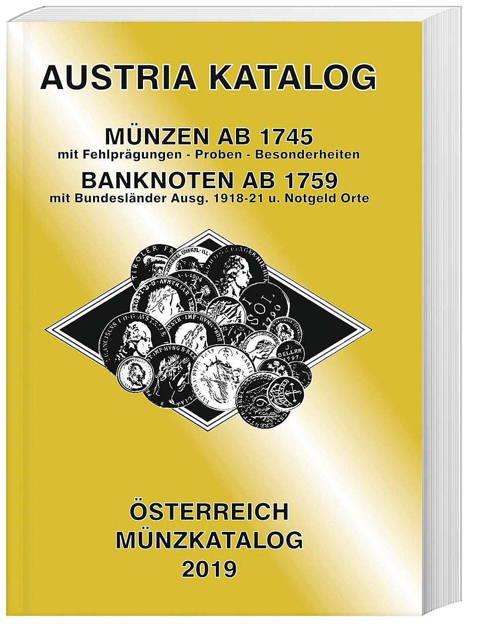 Austria Katalog Münzen österreich 2019 Buch Portofrei Weltbildat