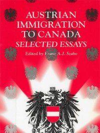 Austrian Immigration to Canada, Franz Szabo