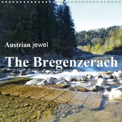 Austrian jewel - The Bregenzerach (Wall Calendar 2019 300 × 300 mm Square), Manfred Kepp