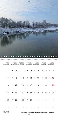 Austrian jewel - The Bregenzerach (Wall Calendar 2019 300 × 300 mm Square) - Produktdetailbild 1