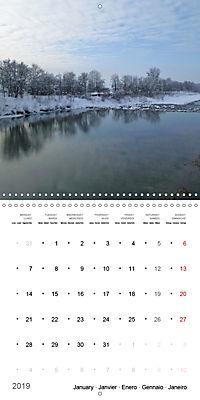 Austrian jewel - The Bregenzerach (Wall Calendar 2019 300 × 300 mm Square) - Produktdetailbild 1