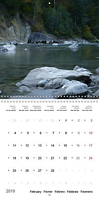 Austrian jewel - The Bregenzerach (Wall Calendar 2019 300 × 300 mm Square) - Produktdetailbild 2