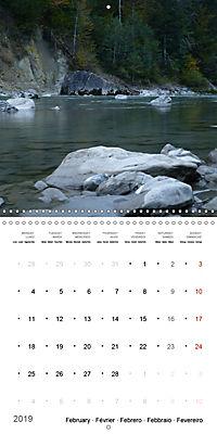 Austrian jewel - The Bregenzerach (Wall Calendar 2019 300 × 300 mm Square) - Produktdetailbild 2