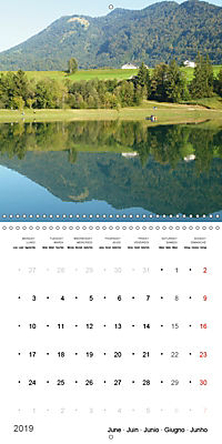 Austrian jewel - The Bregenzerach (Wall Calendar 2019 300 × 300 mm Square) - Produktdetailbild 6