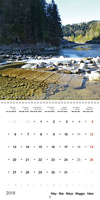 Austrian jewel - The Bregenzerach (Wall Calendar 2019 300 × 300 mm Square) - Produktdetailbild 5