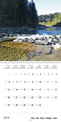 Austrian jewel - The Bregenzerach (Wall Calendar 2019 300 × 300 mm Square) - Produktdetailbild 5