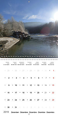 Austrian jewel - The Bregenzerach (Wall Calendar 2019 300 × 300 mm Square) - Produktdetailbild 12
